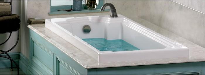 Whirlpool Spa Bath Tubs Clean Quiet Pipeless Technology